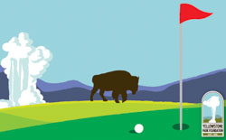 OF Open Golf Graphic 250 X 155
