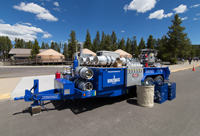 Bernzomatic propane recycling trailer