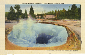 Postcard of Pool