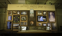 Old Faithful Haynes Photo Shop - Welcome Wall